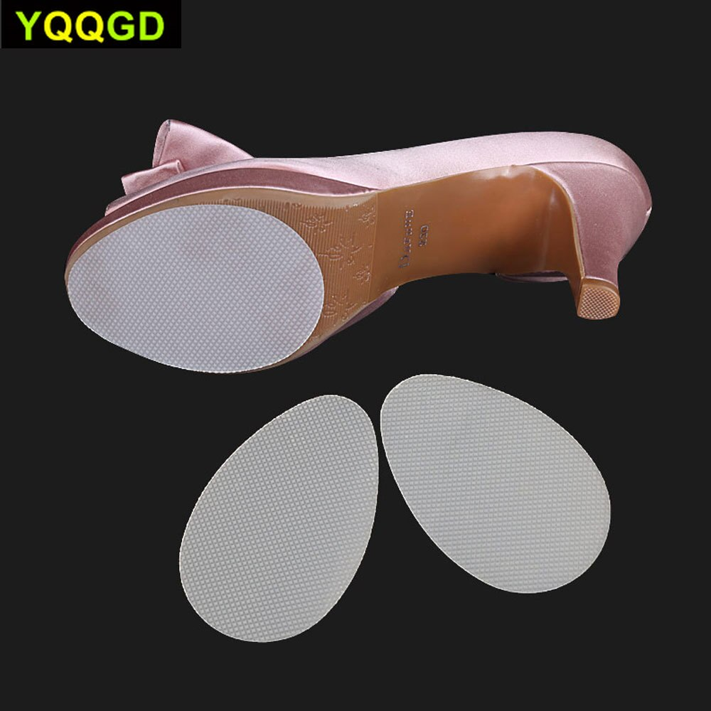 1Pair Anti-Slip Shoe Grips Self-Adhesive Non-slip High-Heeled Shoes Sole Protector Pads Sticker for Men and Women