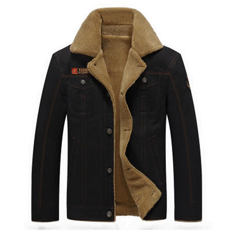 Мужские куртки-сафари, толстые теплые зимние куртки, модель 5XL, мужские шерстяные куртки, плотное зимнее пальто, верхняя одежда для мужчин