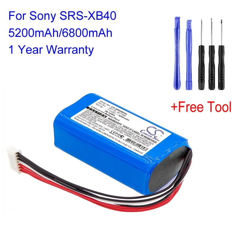 Jd770b para Sony Cameron Sino 6800mah Substituição Bluetooth Alto-falante Bateria Lautsprecher Acce Id770 Srs-xb40 Cs-srx400sl