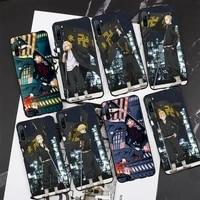 tokyo revengers phone case for xiaomi mi5 mi5x mi6 mi6x mia2 mi8 mi9 mi10 note2 note3 note10 pro max plus 10 lite cover