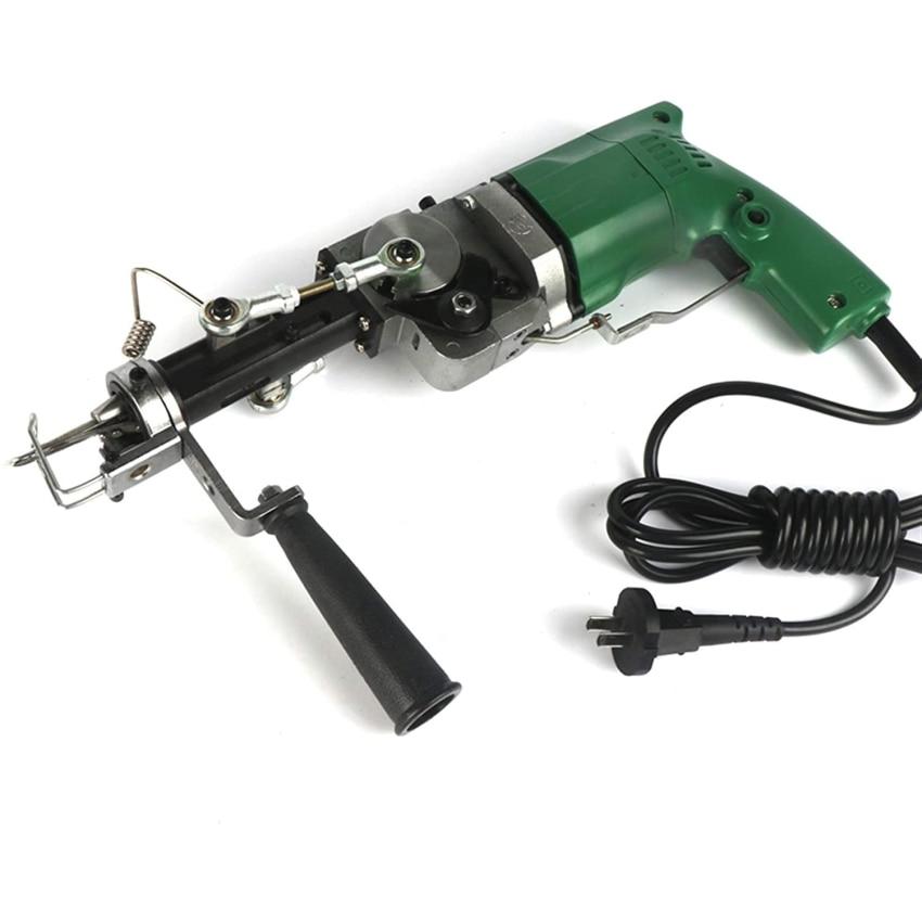220V Electric Hand Rug Tufting Gun Portable Carpet Weaving Rug Machine Cut&Loop Pile With with Cut and Loop Pile EU Plug enlarge