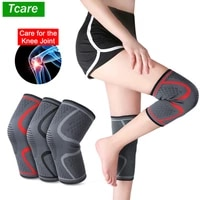 tcare knee brace support compression sleeve knee protector for meniscus tear arthritis acl joint pain relief injury recovery new