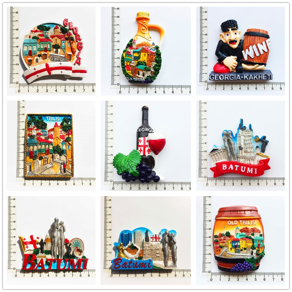 Europe and America area scenery  3D Fridge Magnets Tourism Souvenir Refrigerator Magnetic Sticker Collection Handicraft Gift south african tourism memorial tree leopard refrigerator