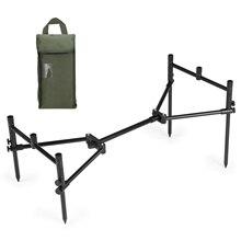 Съемный держатель для удочки держатель для удилища Складная Выдвижная подставка для удочки с сумкой для переноски