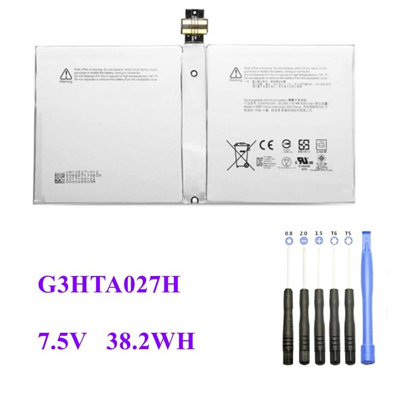 "DYNR01 G3HTA027H Laptop Battery For Microsoft Surface Pro 4 1724 12.3"" Tablet Battery 7.5V 38.2"