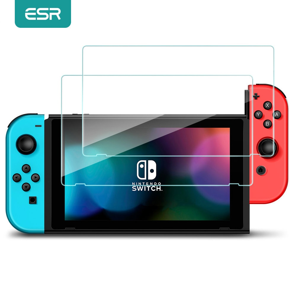 ESR Screen Protector for Nintend Switch Tempered Glass HD Anti Blue Light Protective Glass for Nintendo Switch Lite Accessories