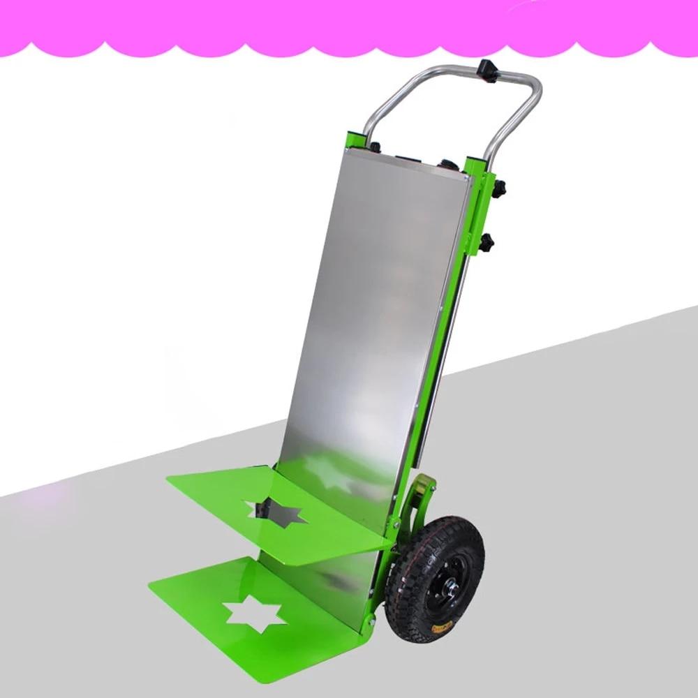 Электрическая тележка для подъема по лестнице, 220 кг, ручная тележка для подъема по лестнице, ручная тележка, Плоская тележка