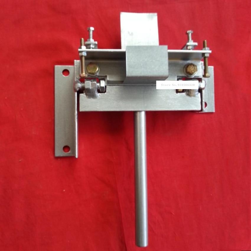 KK-110mm ماكينة ثني يدوية الحديد النحاس الألومنيوم لوحة المتداول آلة المنزلية الصغيرة الصفائح المعدنية الانحناء آلة 0-110 مللي متر