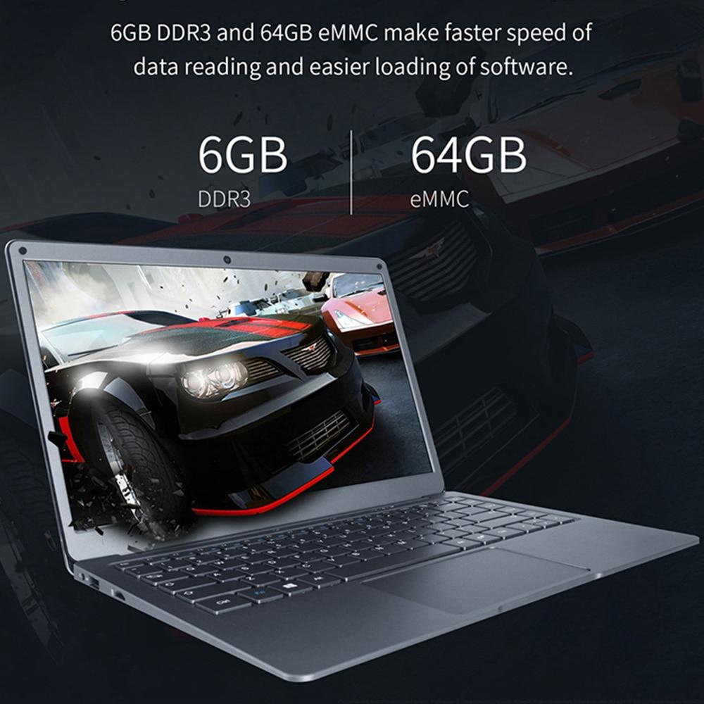 JUMPER EZbook X3 Intel N3350 6GB 64GB Notebook 13.3 Inch 1920*1080 IPS Screen Portable Win 10 Laptop 2.4G/5G WiFi Computer