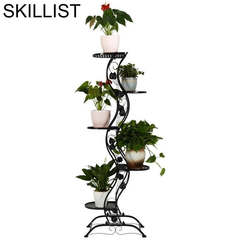 Декоративная подставка для растений, наружный стеллаж для украшения балкона, балкона, цветов