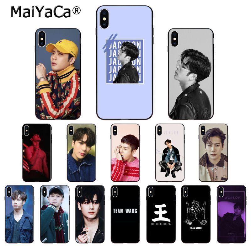 MaiYaCa GOT7 Jackson Wang TPU de silicona suave cubierta de la caja del teléfono para Apple iPhone 7 6 6S Plus X XS X MAX 5 5S SE XR 11 11pro.