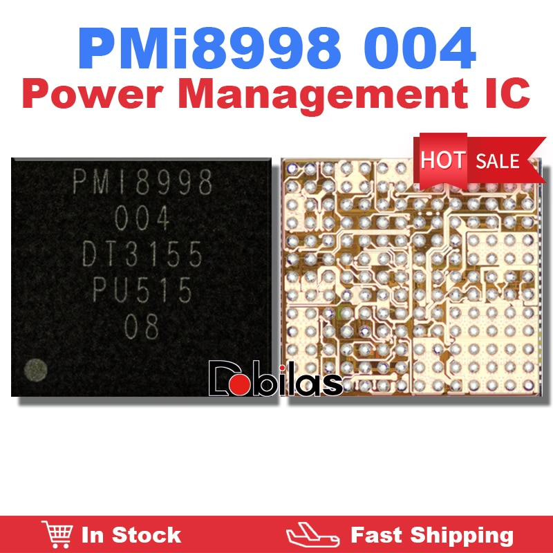 5Pcs/Lot PMI8998 004 Power IC BGA PMIC Power Management Supply Chip Mobile Phone Integrated Circuits