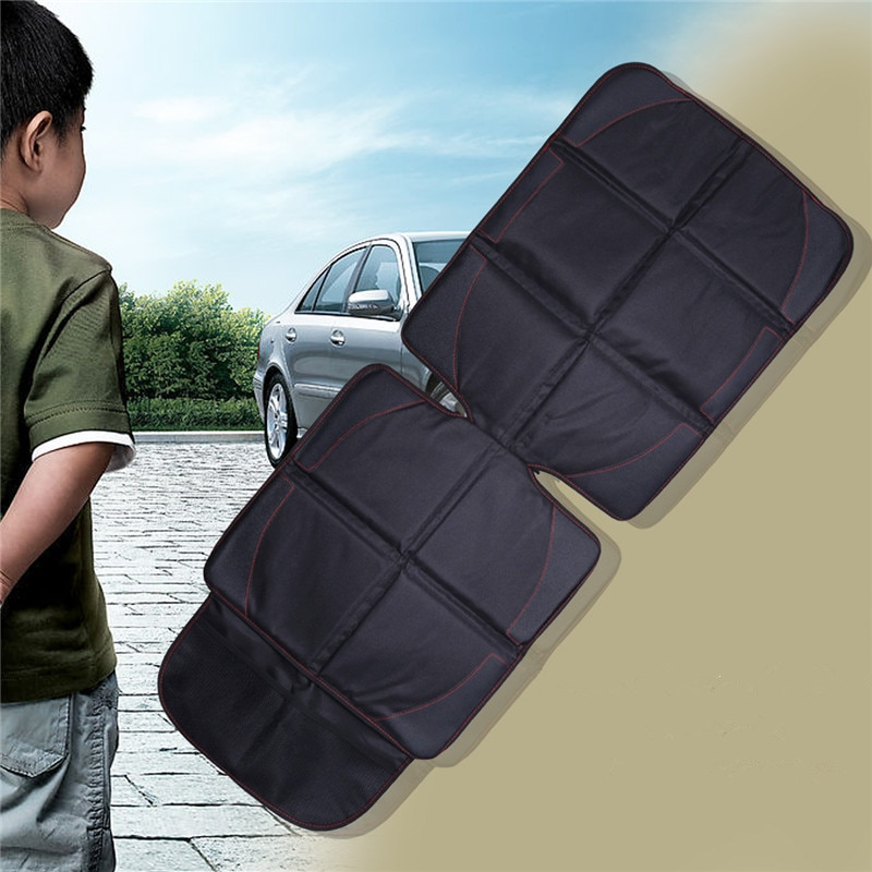 123*48cm Oxford Cotton Luxury Leather Car Seat Protector Child Baby Auto Seat Protector Mat Improved Protection For Car Seat enlarge