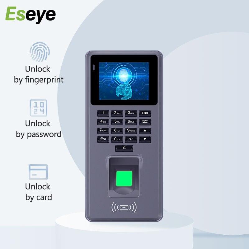 Eseye аппарат контроля доступа и учета рабочего времени по отпечаткам пальцев Управление Rfid клавиатуры USB скачать программное обеспечение от...