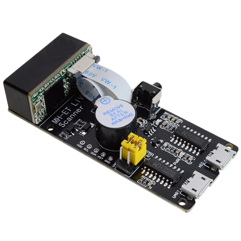 RISE-Qr /1D/2D/escáner de código de barras V3.0, módulo de reconocimiento de código de barras, Comunicación Serial, interfaz Uart, entrada de teclado Usb