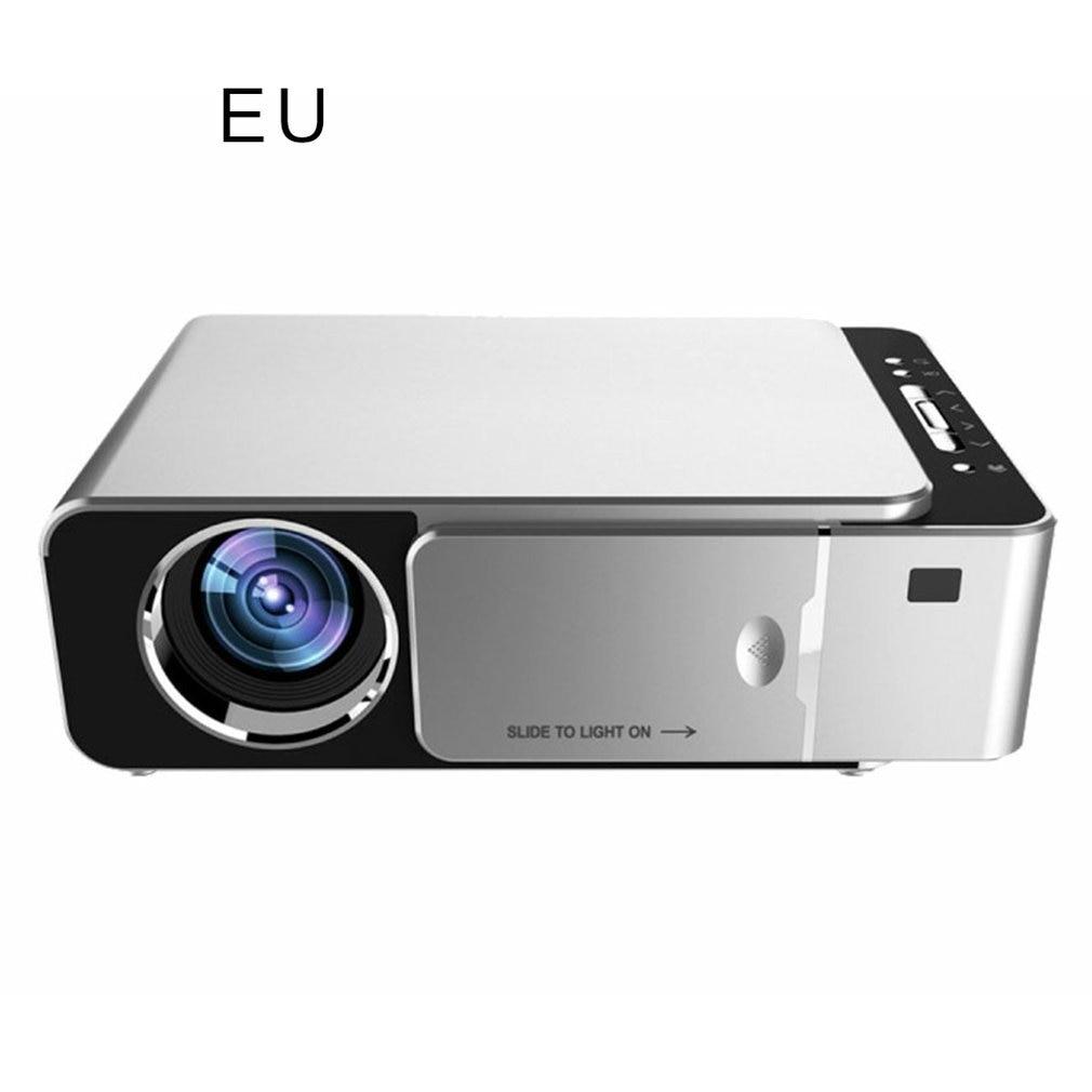T6 FHD جهاز عرض (بروجكتور) ليد 4k 3500 لومينز HDMI USB 1080p المحمولة سينما Proyector متعاطي المخدرات شاشة الكريستال السائل النسخة العادية