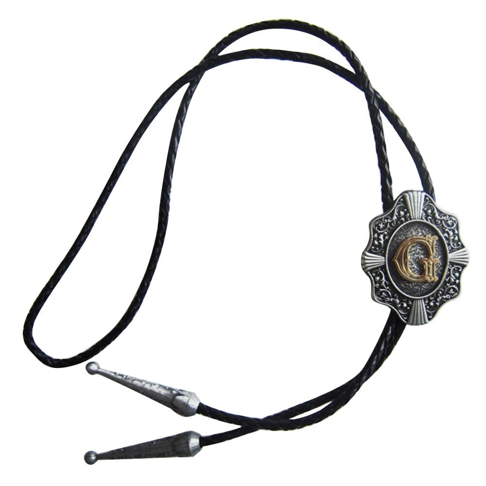 Brand New Wholesale Retail Western Original Letter G New Bolo Tie G Brand New in Stock Factory Direct Free Shipping