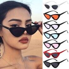 Sexy Cat Eye Sunglasses Women Brand Designer Mirror Black Triangle Sun Glasses Female Lens Shades St