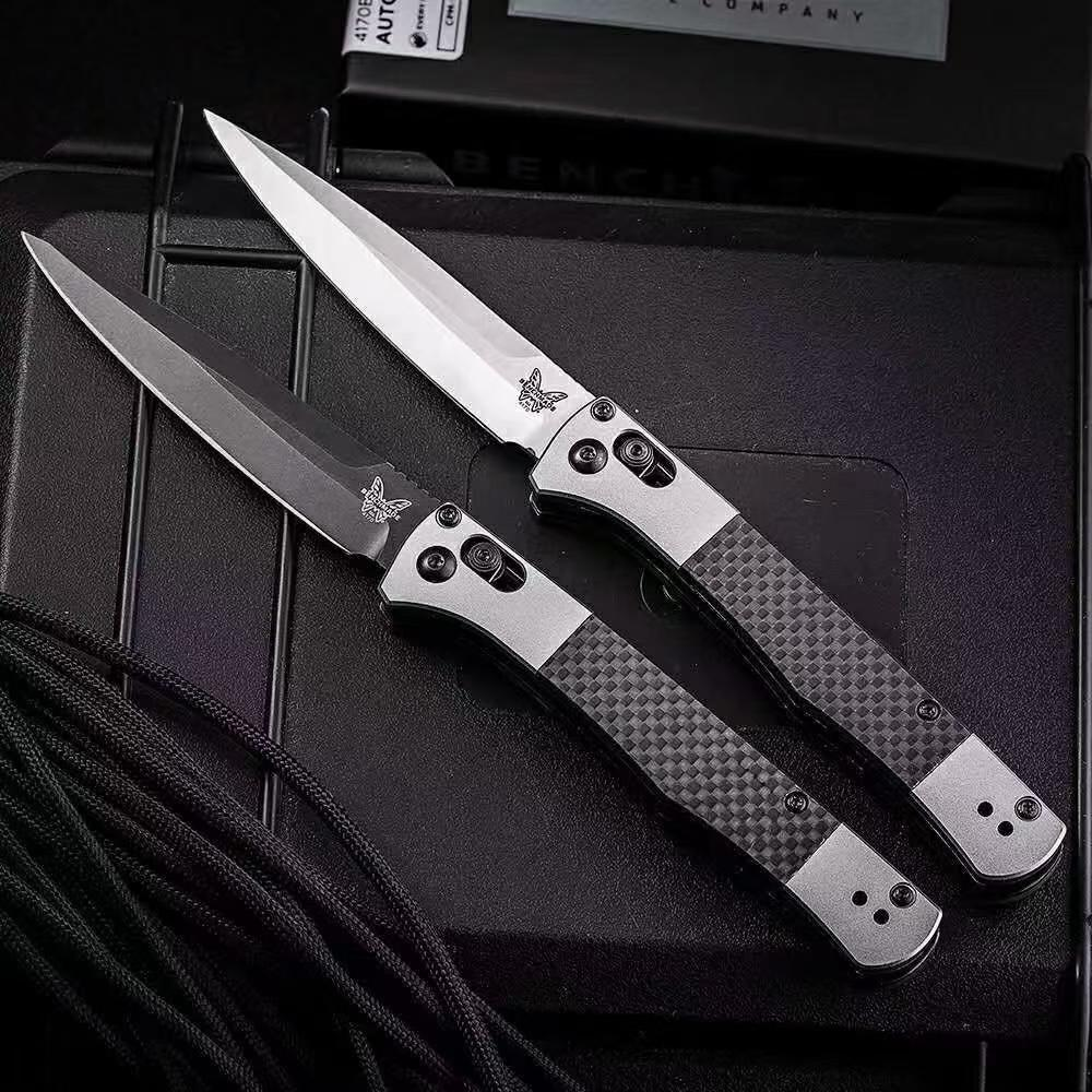 Benchmade 4170BK High Quality Folding Knife Outdoor Camping Multi-functional  Safety Defense Pocket Knives EDC Tool enlarge
