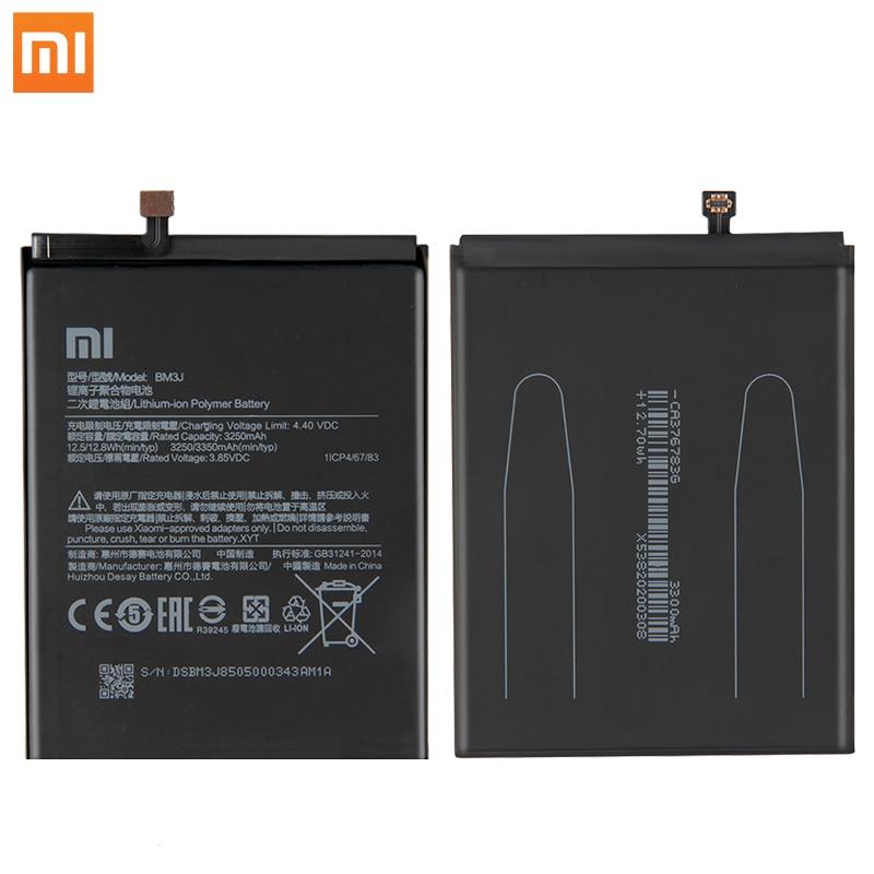 Original Xiaomi 8 Lite MI8 Lite Phone Battery BM3J 3350mAh High Capacity XiaoMi Phone Batteries Free Tools Phone AKKU enlarge