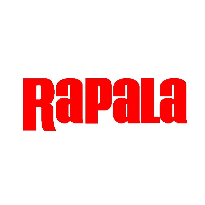 Pegatina de Rapala, pegatina de ventana para Ipad, barco, carrete de caña de pescar, portátil, etiqueta adhesiva para ventana (12*6cm)