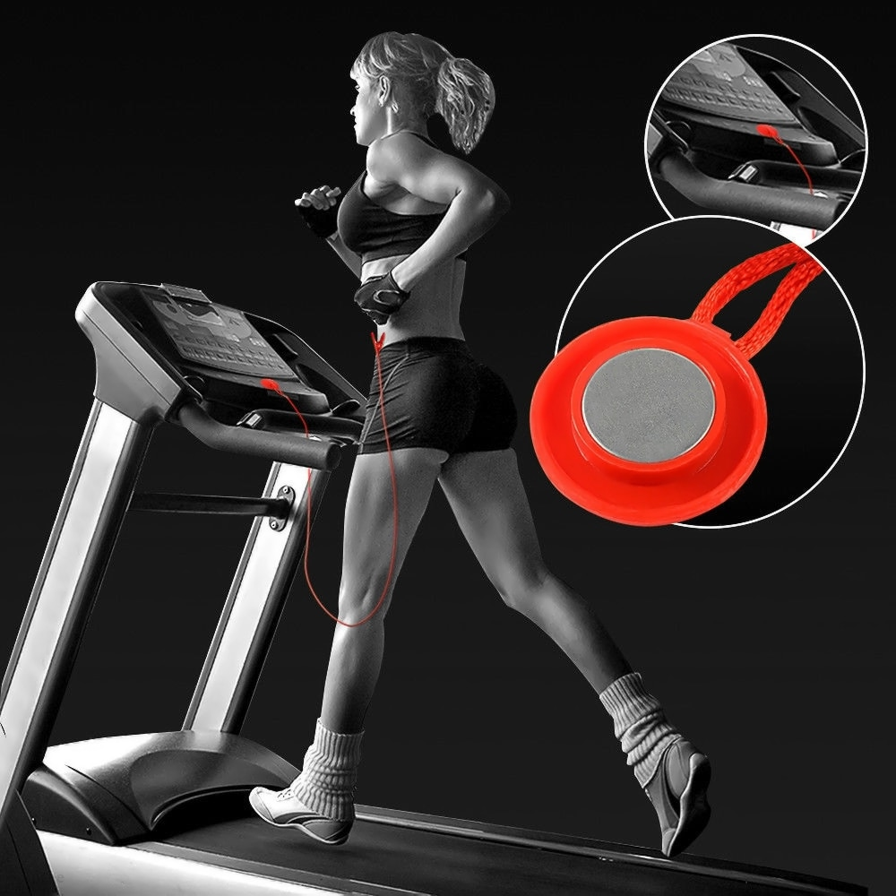 Treadmill Safety Key Running Machine Magnetic Security Switch Lock Fitness