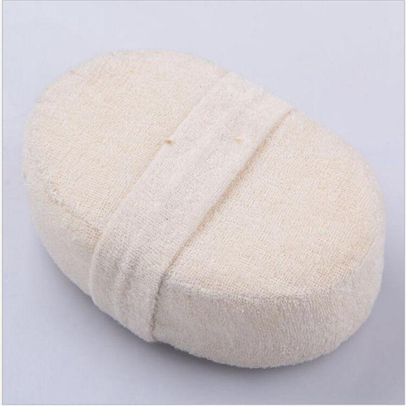 2Pcs Natural Loofah Luffa Body Scrubber Exfoliator Bath Brush Wash Shower Sponge Hotel Special Beaut