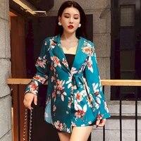2021 spring summer slit lace printing shirt hong kong style long sleeve blouse fashion women button up korean clothe kawaii top