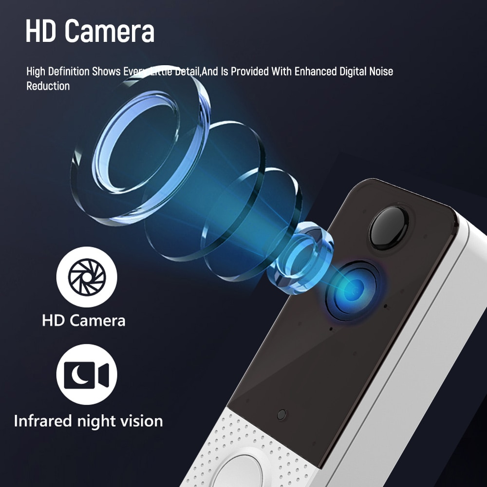 EKEN PIR Wireless Camera IP Door Bell Camera 1080P WIFI IP67 Waterproof Visual Intercom Night Vision Smart Video Doorbell enlarge