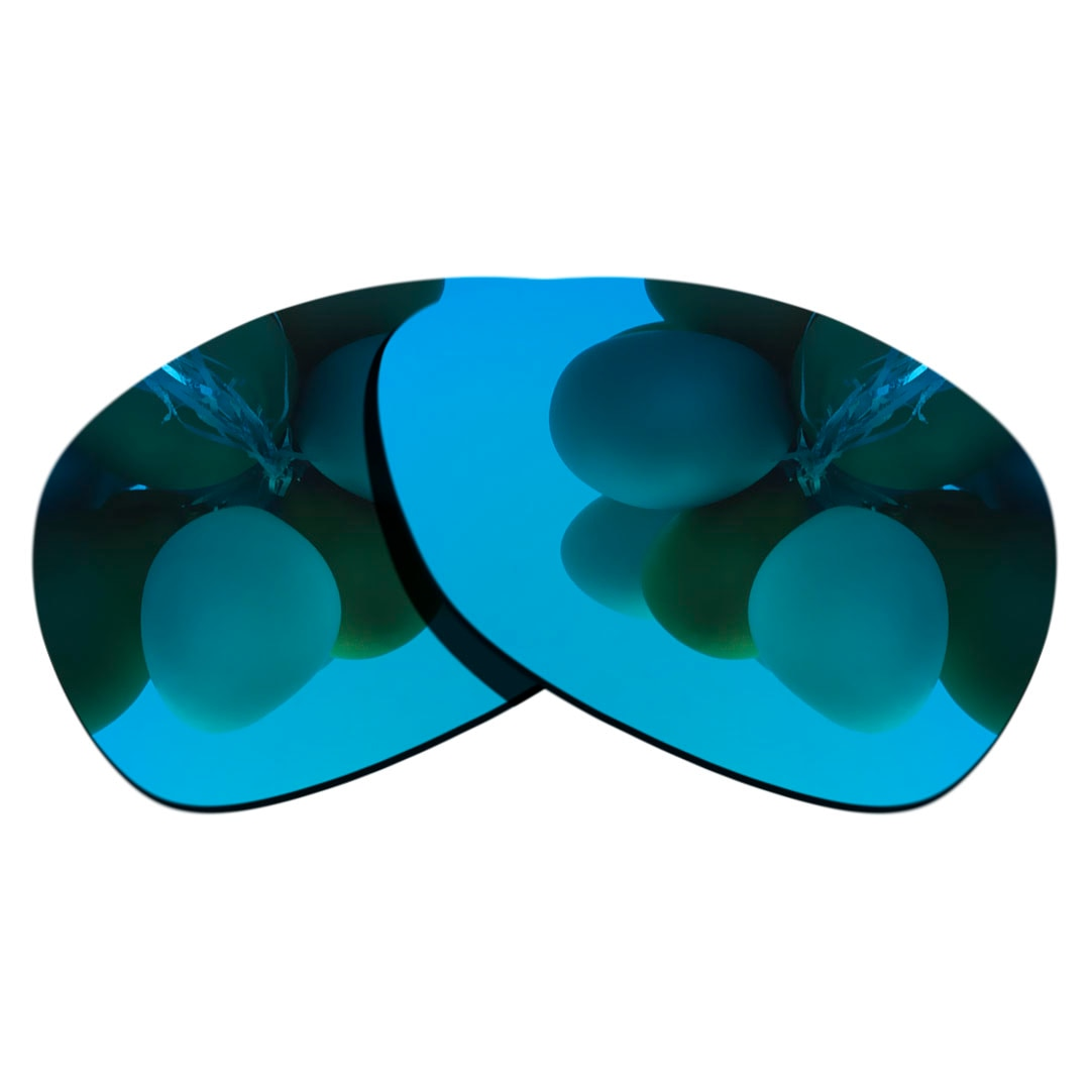 Ice Blue Polarized Sunglasses Replacement Lens for-RAY BAN   RB2132-52 Frame 100% UV Protection Good
