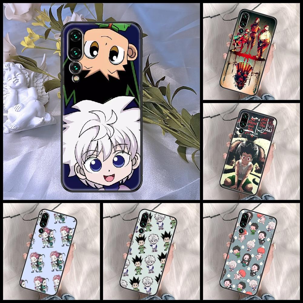 Hunter×- funda de teléfono de Anime para Huawei P Mate P10, P20,...