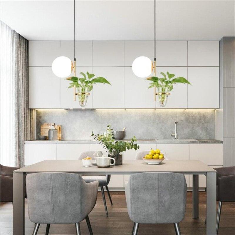 مصباح معلق Led على شكل كرة زجاجية ، حديث ، إضاءة داخلية ، مصباح سقف ، مثالي لغرفة المعيشة ، غرفة الطعام ، البار ، الردهة ، 2601