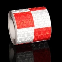 5cm300m car reflective tape decoration stickers car warning safety reflectante tape film auto reflector sticker for car styling