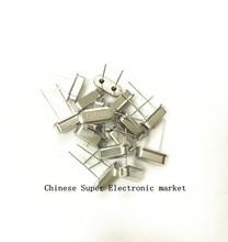 50 pièces oscillateur à cristal 24 MHz 24 MHz 24 M Hz Mini HC-49S à Quartz résonateur passif