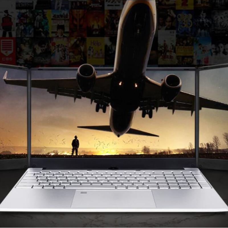 1920X1080P 15.6 inch Cheap Laptop DDR4 RAM 12GB 128GB 256GB 512GB 1TB SSD Notebook J4105 Quad Core Bluetooth 4.0  2.4G +5G Wifi