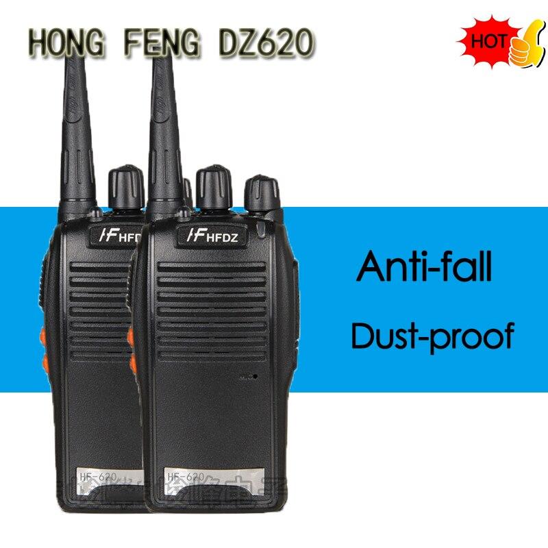 Hongfeng BF-620 5W Walkie Talkie de UHF 400-470MHz 16CH HF620 CB Radio talki walki HF-620 portátil transceptor PMR446