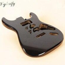 2020 новый металлический черный ST гитарный корпус и Floyd Rose фрезерный ST гитарный корпус оптом