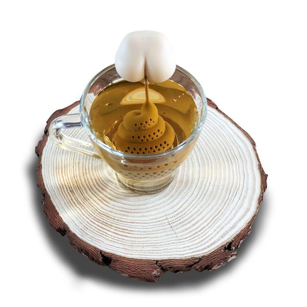 الشاي اكسسوارات أنبوب على شكل كيس شاي 1 قطعة عشب التوابل الإبداعية القهوة تصفية الناشر مبتكرة أنبوب على شكل الشاي Infuser