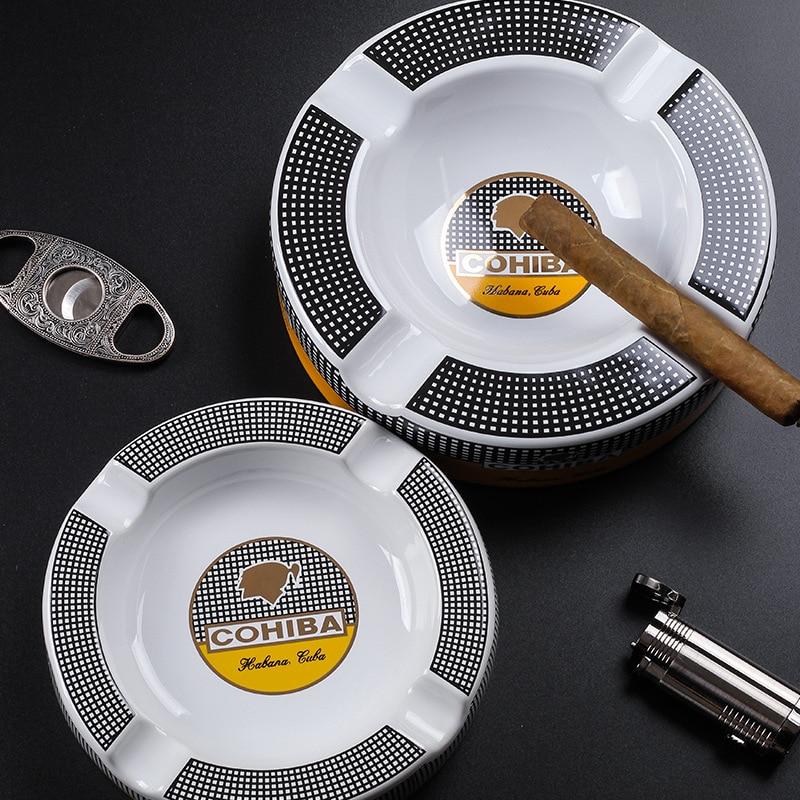 Cohiba Cigar Ashtray Big Ashtrays 8