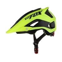 batfox mtb cycling helmet casco bicicleta mountain road dirt bike helmet women men bicycle helmet with visor
