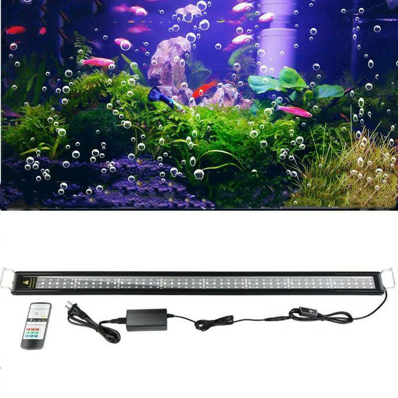 Yonntech 38'' Aquarium LED Light RGB LED Light Fish Tank Light + Remote Control HL-3100F