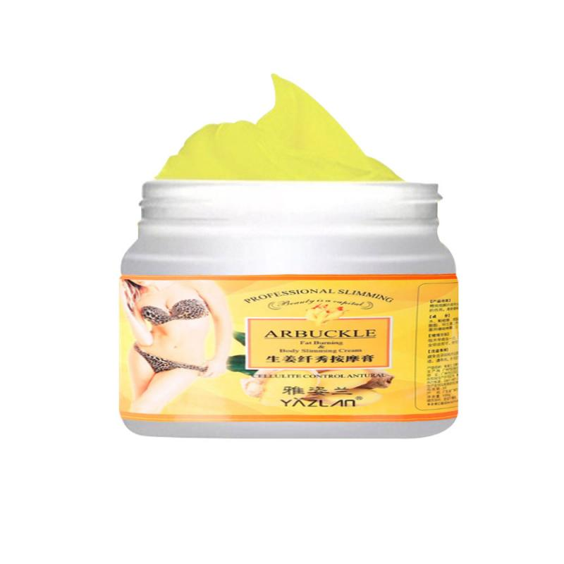 HOT Ginger Fat Burning Anti-cellulite Full Body Slimming Cream Gel Weight Loss Promote Abdominal Fat Burning 7 Days