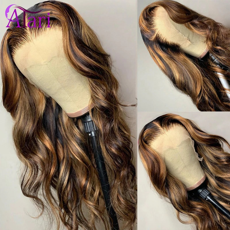 HD Transparent Lace Wigs 100% Virgin Human Hair Lace Frontal Wigs Brazilian Wigs for Women 4x4/13x4