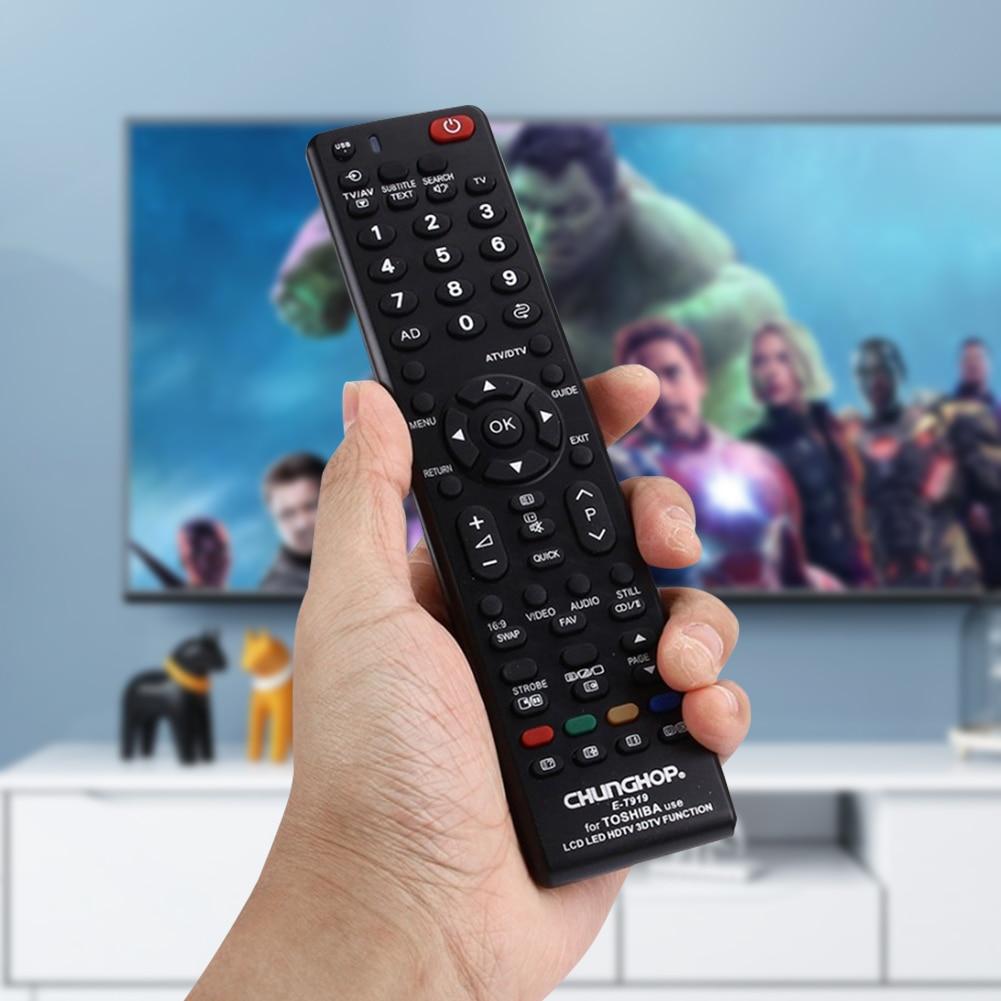 Nuevo Universal E-T919 LCD LED HDTV inteligente de Control remoto de reemplazo para Toshiba LED LCD TV HDTV 3DTV televisión