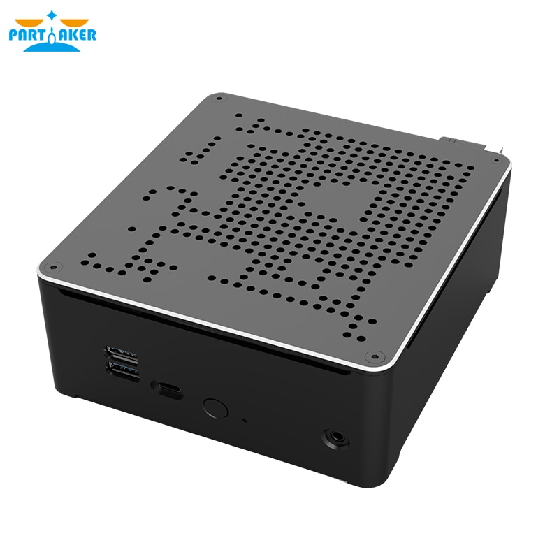 Настольный компьютер 9 поколения Nuc i9 9880H i5-10300H 6 Core i5 Mini PC 2 Lan Windows 10 2 * DDR4 2 * M.2 NVME AC WiFi игровой компьютер 4K DP HDMI