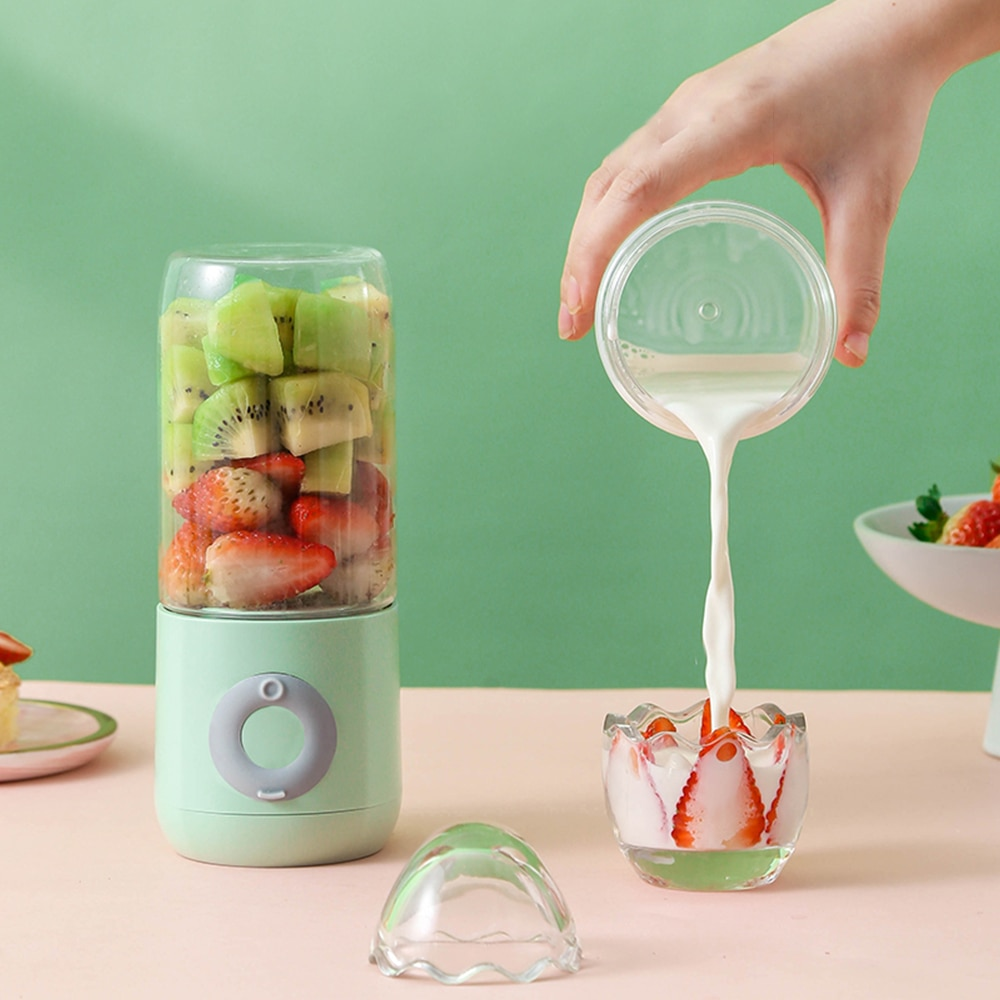 AliExpress - Handheld Blender Portable Juicer 6 Blades Mixer USB Chargeable Electric Kitchen Food Processor 500mL Quick Juicing Fruit Cup NEW