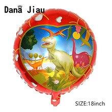 Dana jiau-ballon à hélium pour fête sur thème dinosaure   18 pouces, ballon décoratif pour fête danniversaire pour garçon de 6 ans, jouet pour enfant