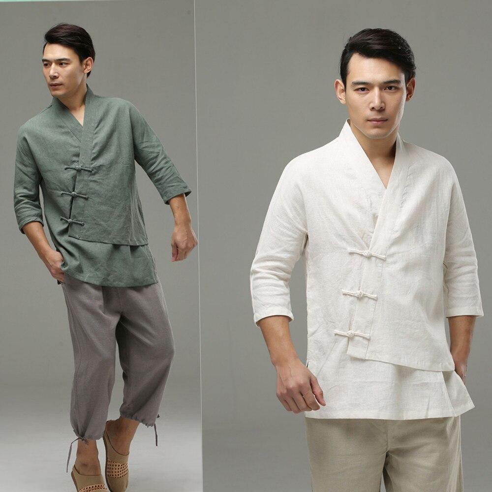 Мужская и мужская одежда в китайском национальном стиле, повседневная, свободная, повседневная, свободная, в китайском стиле, одежда в нацио...