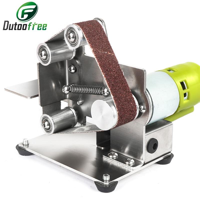 110V/220V New Style  DIY Polishing Grinding Machine Cutter Edges Sharpener Multifunctional Grinder Mini Electric Belt Sander