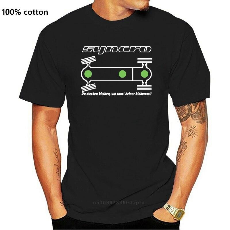 Camiseta-T3 autobús Syncro diferencia Camiseta clásica de algodón para hombre with cierre......